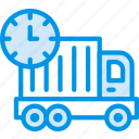 business, delivery, late, shop, shopping icon