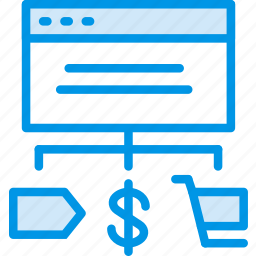 business, commerce, e, shop, shopping icon