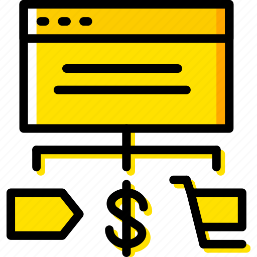 business, commerce, e, shop, shopping icon