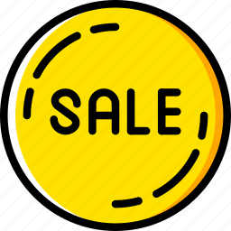 badge, business, sale, shop, shopping icon