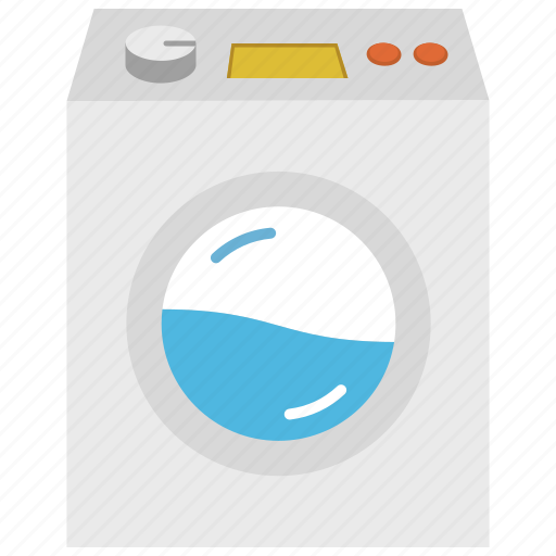 appliance, laundry, washer, washing machine icon