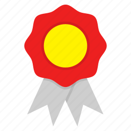 award, badge, best, medal, reward, ribbon icon