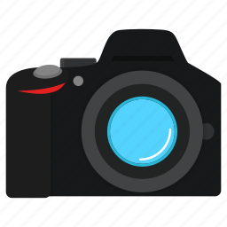 camera, device, digital, dslr, image, photo, photography icon