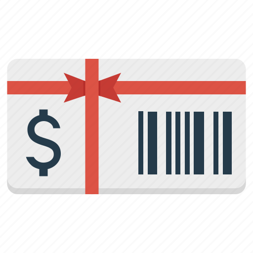 card, christmas, doller, gift, giftcard, present icon