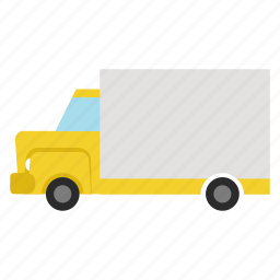 delivery, delivery truck, shipping truck, shipping van, transport, vehicle icon