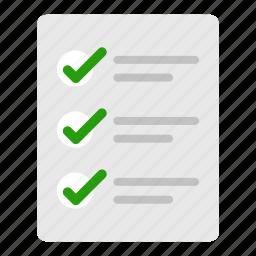checklist, list, plan, tasks icon