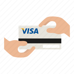buy, credit card payment, purchase, shop, shopping, visa card icon