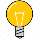 bulb, creativity, imagination icon