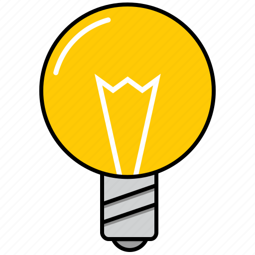bulb, creativity, imagination icon