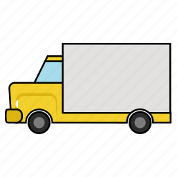 delivery, delivery van, shipping truck, shipping van, transport, vehicle icon