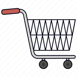 purchase, shopping cart, trolley, trolly icon
