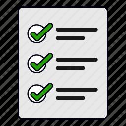 buy, checklist, ecommerce, list, report, shopping list icon