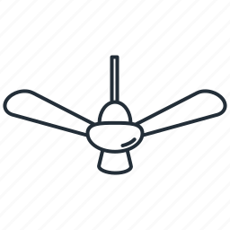ceiling, cooler, fan icon