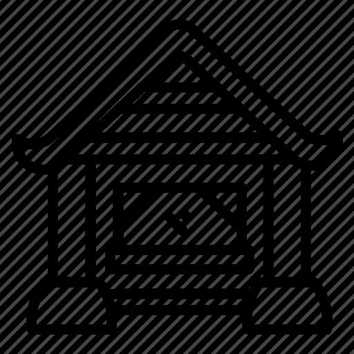 Building, shop, house, boutique, cottage, home, store icon