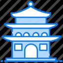 architecture, building, pagoda, saigon, structure, temple