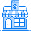 electronic shop, marketplace, mobile market, mobile shop, mobile store, outlet