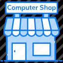 computer market, computer shop, computer store, marketplace, outlet