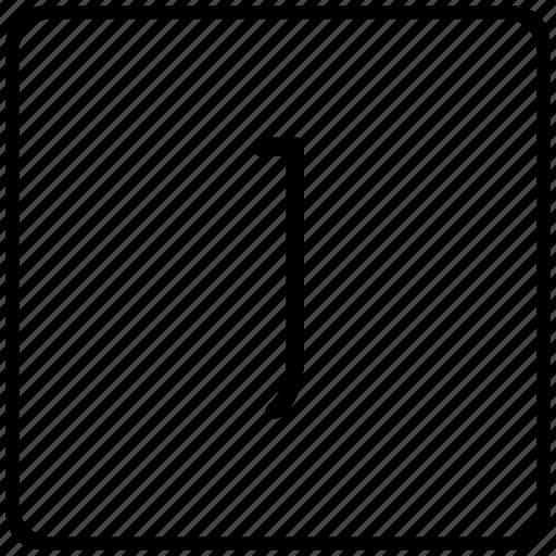 j, key, keyboard, letter icon