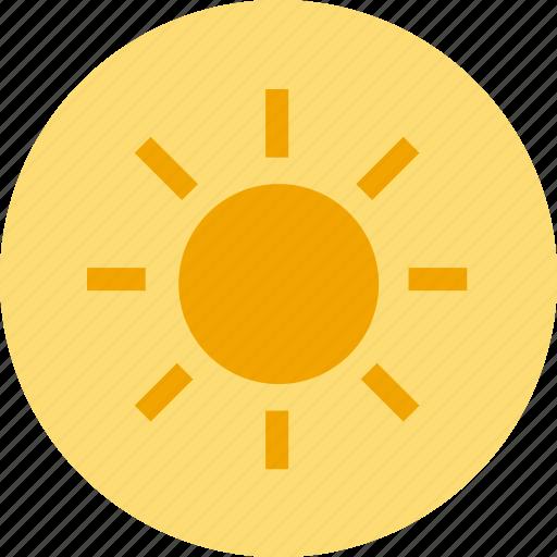 brightness, camera, screen icon