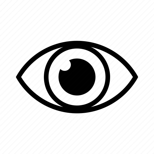 eye, hide, password, show, sight, view, vision icon