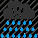 rain cloud, rainy, storm, thunderstorm, water drops, weather forecast icon