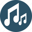 audio, music, music note, note, quaver icon