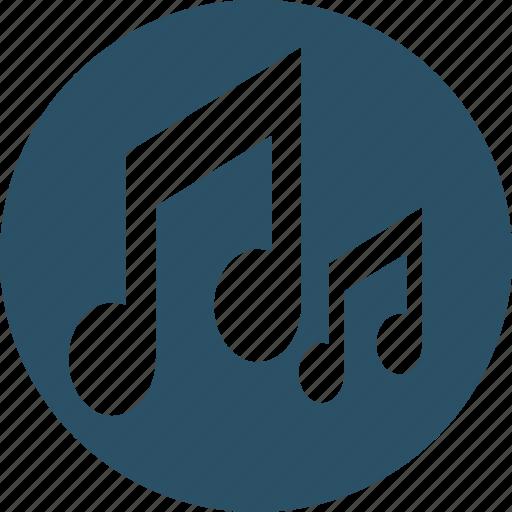 audio, music, music note, note, quaver icon