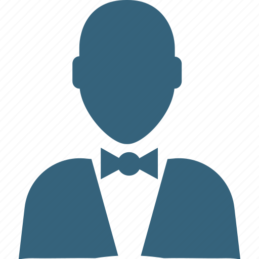 butler, chauffeur, hotel manager, hotel staff, restaurant servant, waiter, young boy icon