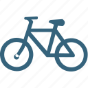 bicycle, bike, cycle, cycling, cyclist, transport, travel icon