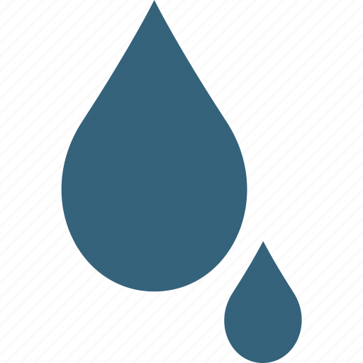 drops, humidity, liquid drops, meteorology, raindrops, water droplet, water drops icon