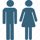 both gender, family, male, male and female, male female, male female allowed, unisex icon