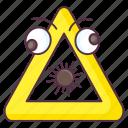 bomb sign, bomb symbol, explosive sign, explosive symbol, hazard symbol icon