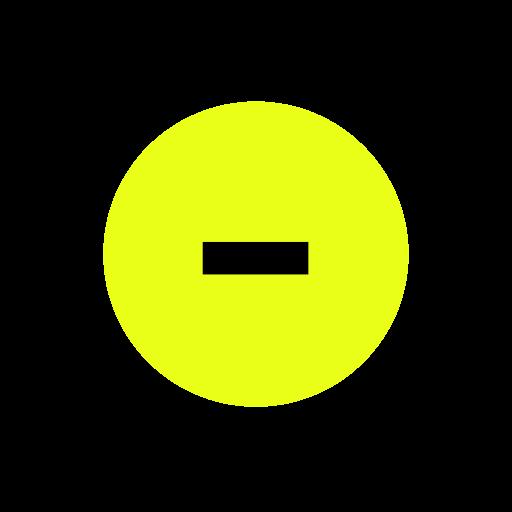 minus, negative, null, subtract icon