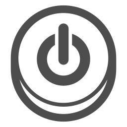 control, multimedia, on off, player, power, turn icon