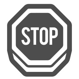 alert, caution, road, sign, stop, traffic icon