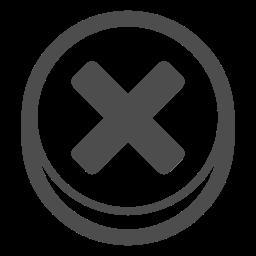 cancel, close, decline, delete, remove, x mark icon