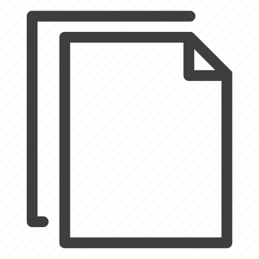 copy, document, documents, file, files icon