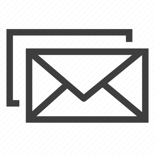 email, emails, envelope, letter, mail, message icon