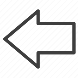 arrow, arrows, direction, left icon