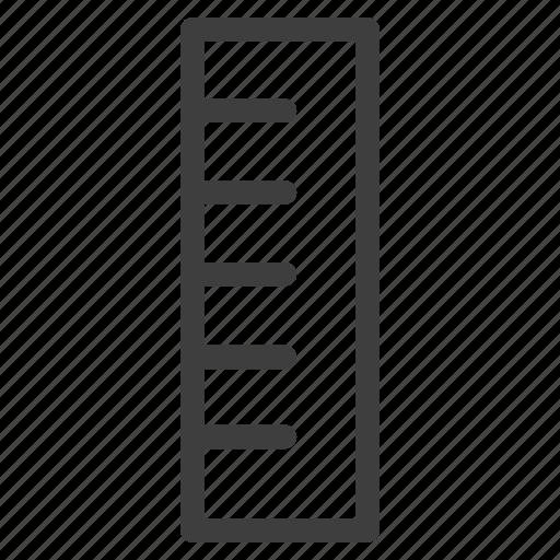 measure, measurement, measuring, ruler, scale icon