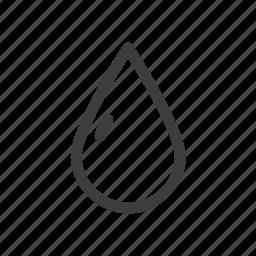 drink, drop, humidity, rain, water icon