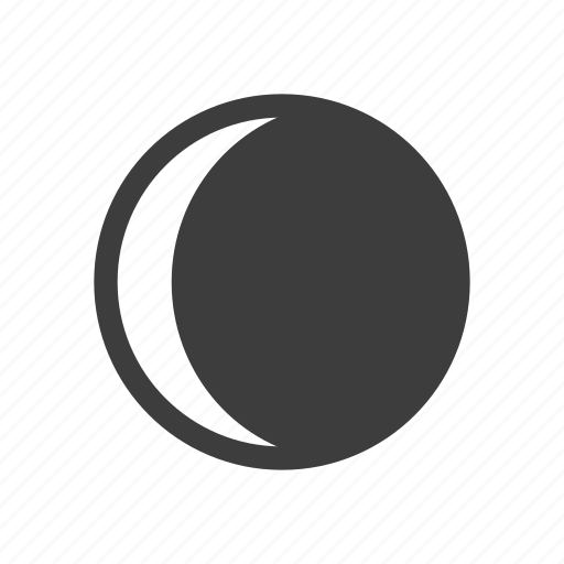 forecast, gibbous, moon, waxing, weather icon