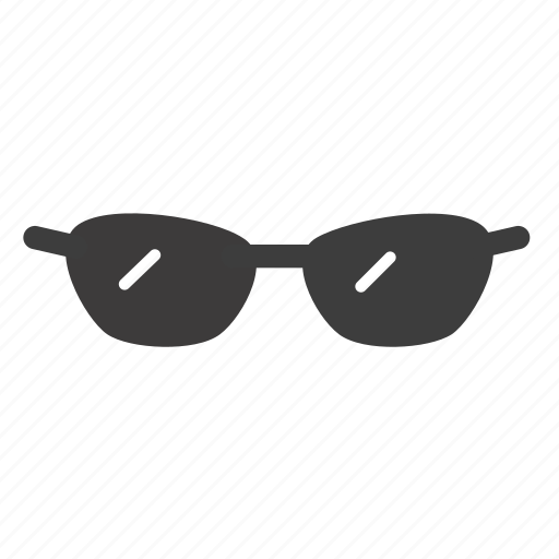 eyeglasses, glasses, sunglasses, view icon