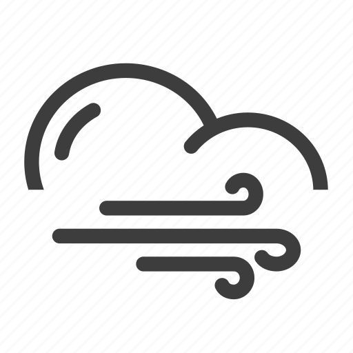 forecast, weather, wind, windy icon