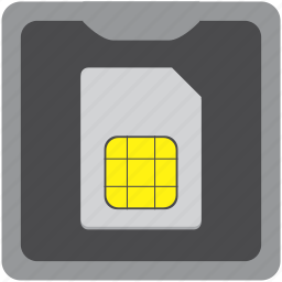 card, mobile, sim, smartphone icon