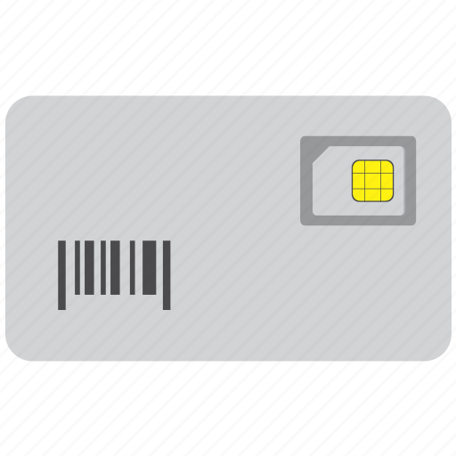 card, mobile, sim, simcard, smartphone icon
