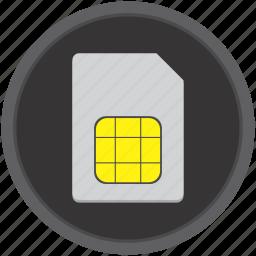 card, mobile, sim, smartphone icon
