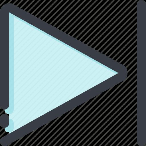 arrow, arrows, direction, forward, navigation, pointer, right icon