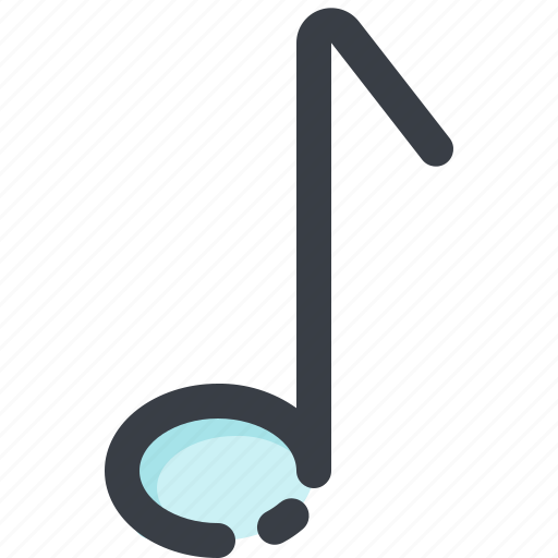 audio, media, music, note, player, sound, volume icon