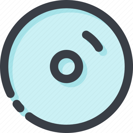 audio, disk, media, multimedia, music, play, player icon